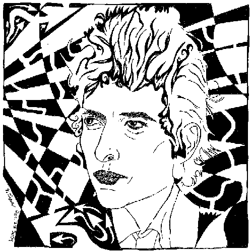 Bob Dylan Birthday Maze.
