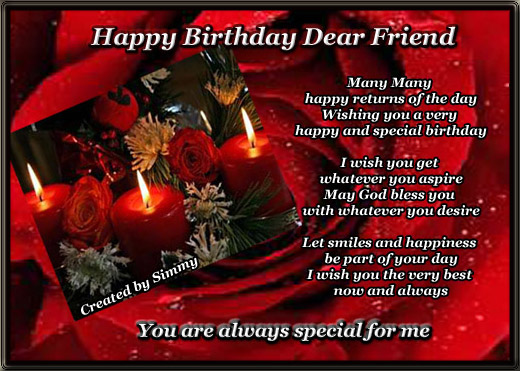 Send This Card To Wish Your Best N Special Friends A Very Happy Birthday