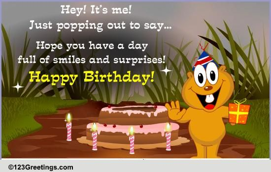 Birthday Greeting For Your Friend Free For Best Friends
