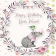 Happy Birthday Friend Hippo And Bird!