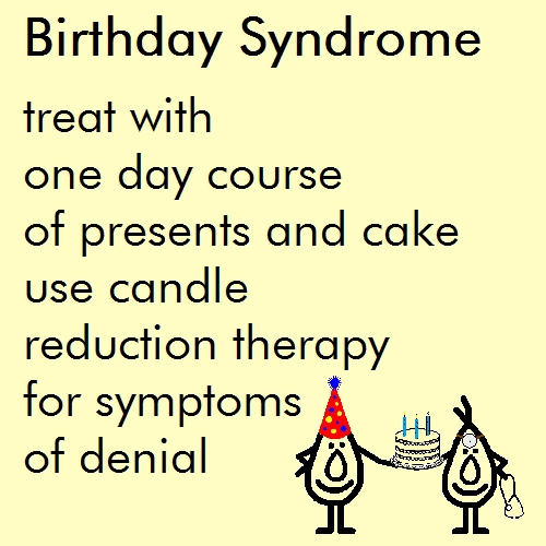 Birthday Syndrome - A Funny Poem. Free Fun eCards, Greeting Cards ...