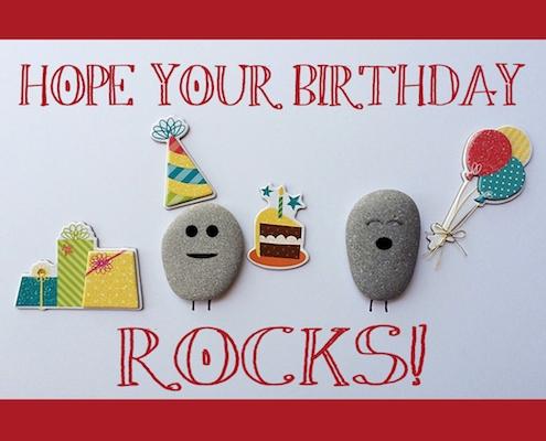 A Birthday That Rocks.