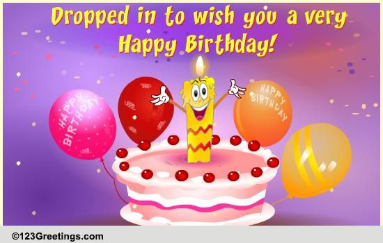 Dropping In A Wish Free Fun eCards Greeting Cards – 123 Greetings Birthday Cards