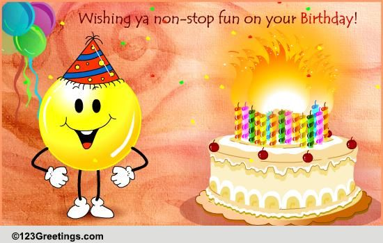Birthday Alert Free Funny Wishes ECards Greeting Cards