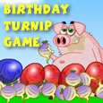 Muddy's Birthday Turnip Game.