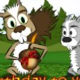 Squirrels' Nutty Birthday Wish!