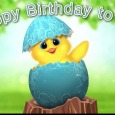 Chick Chick Happy Birthday Ecard