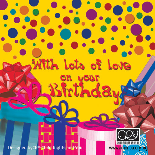 Gifts & Balloons On Your Birthday!