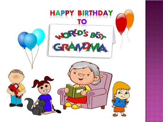 Birthday Wish For Dear Grandmother...