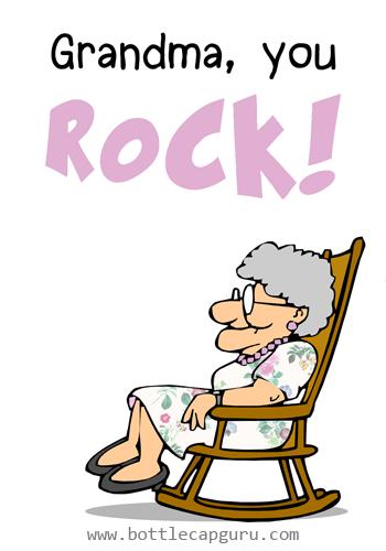 Grandma, You Rock!