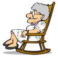 Grandma, You Rock! Rocking Chair.