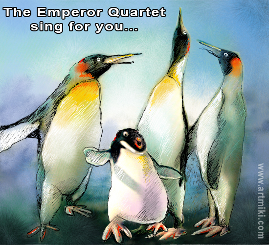 The Emperor Quartet.