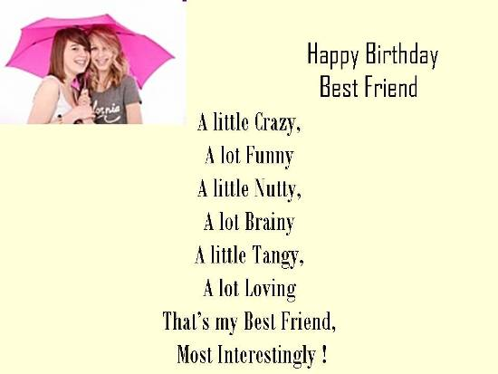 Happy Birthday Best Friend Free Happy Birthday eCards Greeting – Best Friend Birthday Card