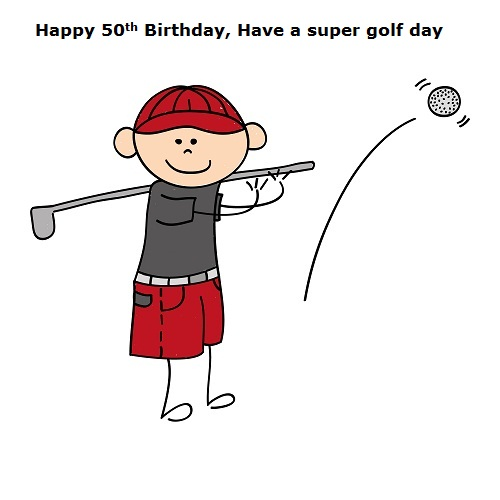 Golf Card Free Happy Birthday ECards Greeting Cards
