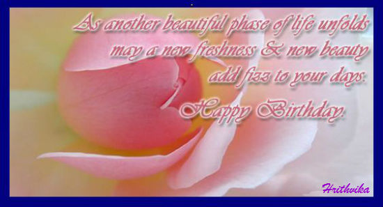 A beautiful phase of life free happy birthday ecards greeting a beautiful phase of life m4hsunfo
