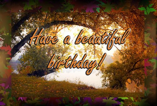 Indian summer birthday free happy birthday ecards greeting cards indian summer birthday m4hsunfo
