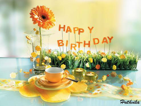 Birthday Wishes With Flowers Free Happy Birthday Ecards Greeting