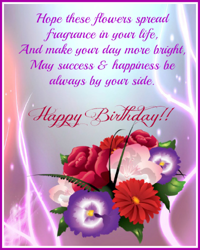 Birthday Wish For You Free Happy Birthday eCards Greeting Cards – Special Birthday Greeting