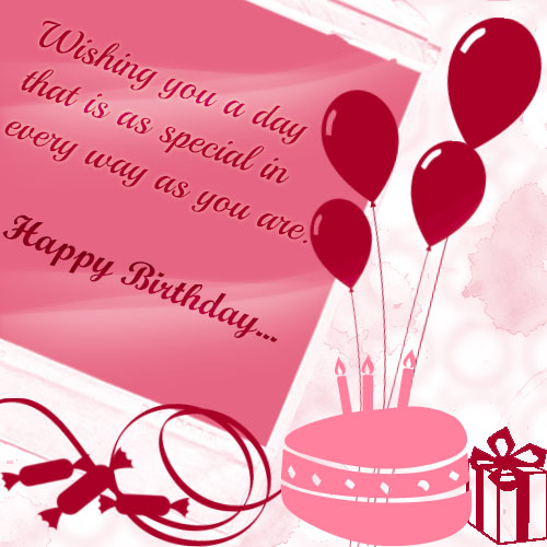 Birthday wishes for the special one free happy birthday ecards birthday wishes for the special one m4hsunfo