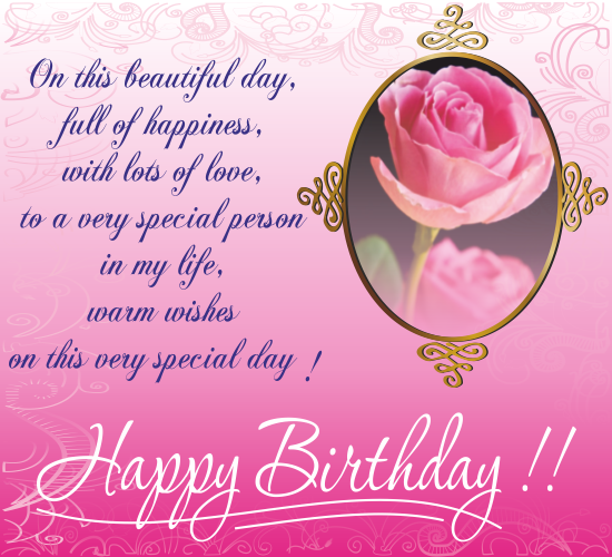 Happy Birthday Dear Free ECards Greeting Cards