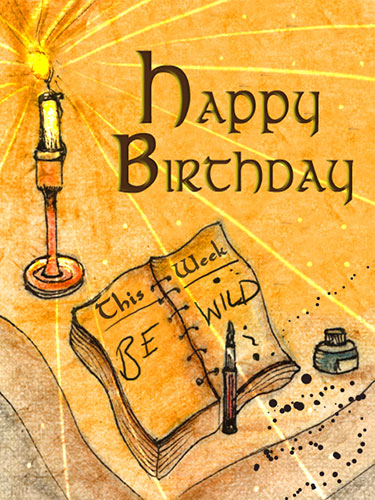 Excellent Be Wild On Your Birthday Free Happy Birthday Ecards Personalised Birthday Cards Veneteletsinfo