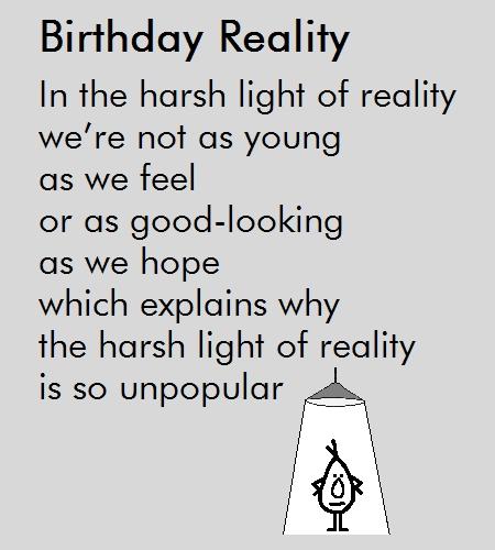 A Funny Poem Free Happy Birthday ECards