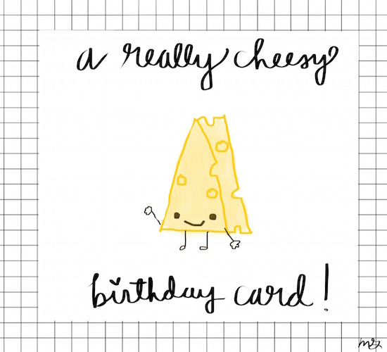 Cheesy Birthday Card Free Happy ECards Greeting Cards