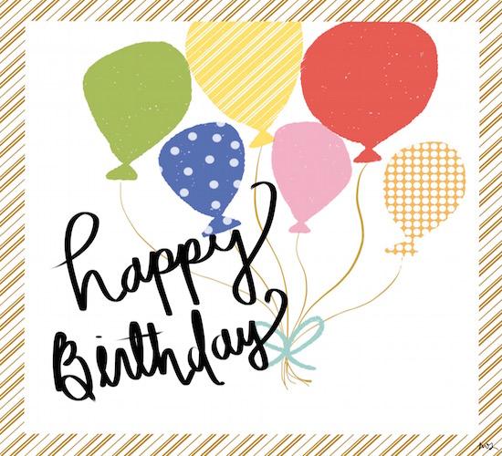 Happy Birthday Balloon Bundle.