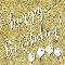 Glitter Happy Birthday.
