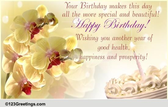 an elegant birthday wish free happy birthday ecards