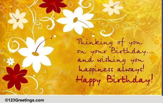 Birthday Cards Free Birthday eCards Greeting Cards – Happy Birthday Greetings Images