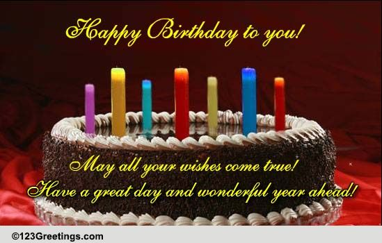 Birthday Wishes Nephew Free ~ An interactive birthday wish free happy birthday ecards greeting