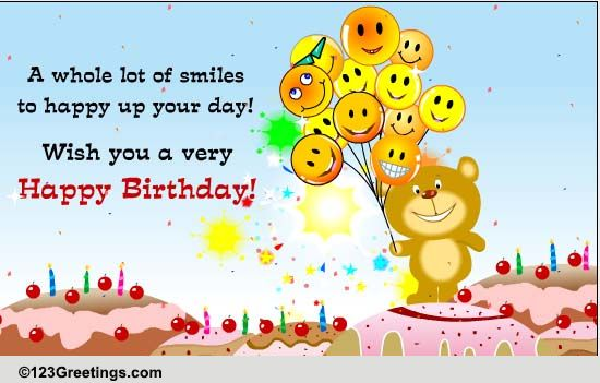 Happy Birthday Cards Free Happy Birthday ECards Greeting
