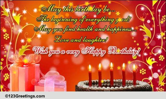 A Very Happy Birthday Free Happy Birthday eCards Greeting Cards – Happy Birthday E Greetings