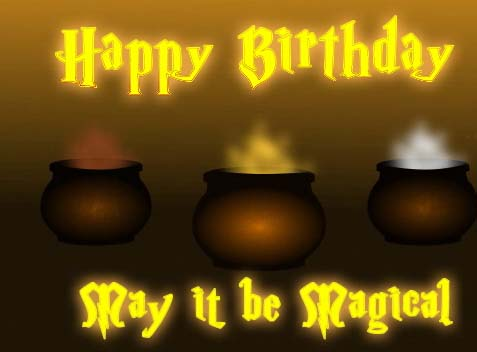 Magical Birthday Free Happy Birthday Ecards Greeting