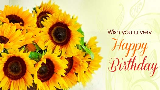 Sunny Birthday Wishes Free Happy Birthday Ecards