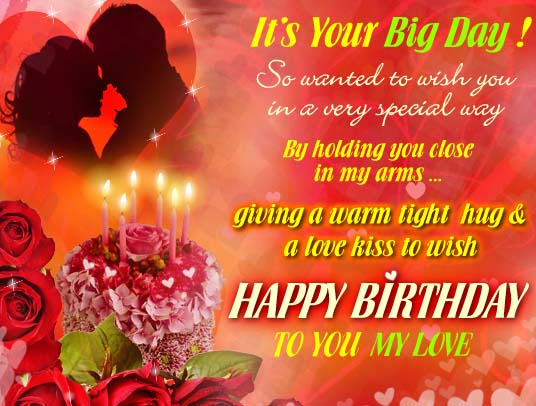 Special Birthday Hug Amp Love Kiss Free Happy Birthday