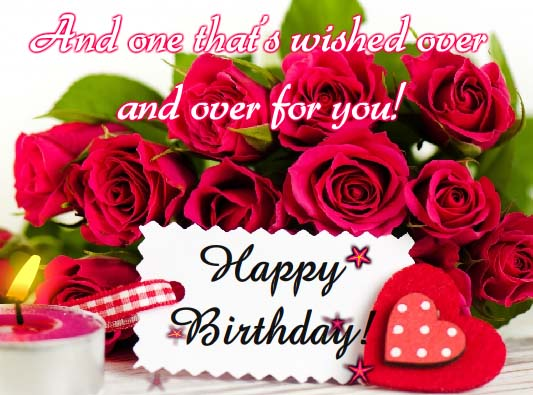 Roses For Someone Special Free Happy Birthday ECards Greeting Cards