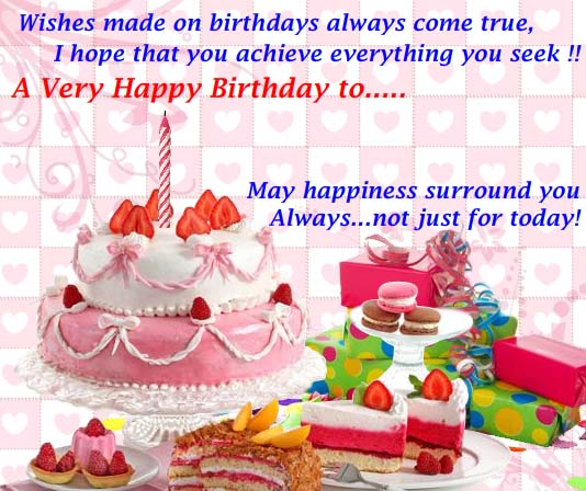 Your Personal Birthday Wishes Free Happy ECards