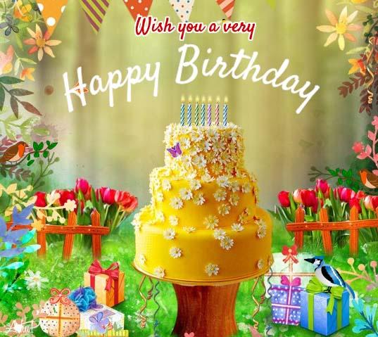 Birthday, A Sweet Celebration! Free Happy Birthday ECards
