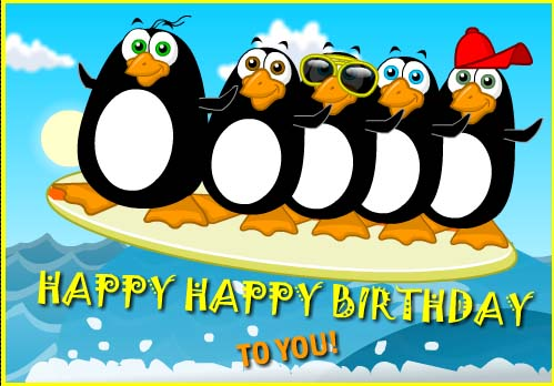 The Beak Boys Birthday Song Free Happy ECards Greeting Cards