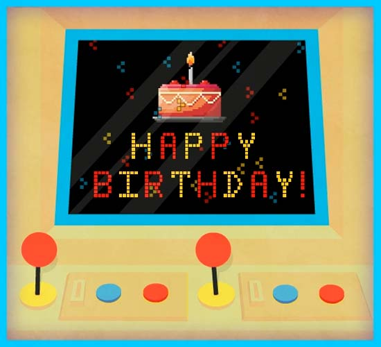 A Video Game Happy Birthday! Free Happy Birthday ECards