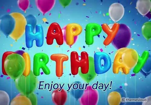 colorful happy birthday card free happy birthday ecards