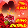Special Birthday Hug & Love Kiss.
