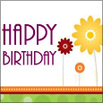 Wishing A Joyful Birthday! - Birthday Card