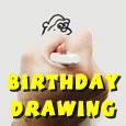 Birthday Drawing.