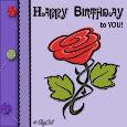 Happy Birthday Rose.