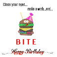 Happy Birthday Hamburger.