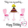 Happy Romantic Birthday My Love.