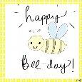 Happy Bee-day!